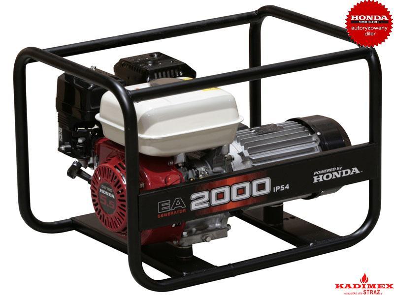 Świeże Agregat z silnikiem Honda EA2000 (2,0kW 40kg 95dB(A)) – Kadimex QW61