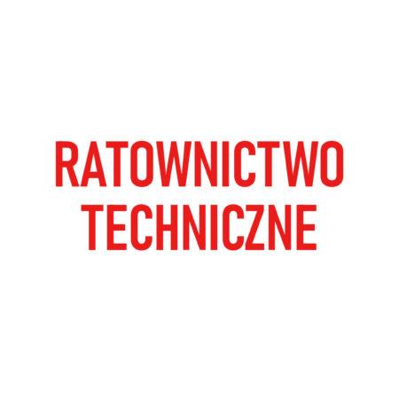 RATOWNICTWO TECHNICZNE